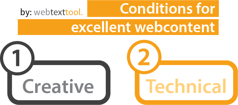 conditions for excellent webcontent