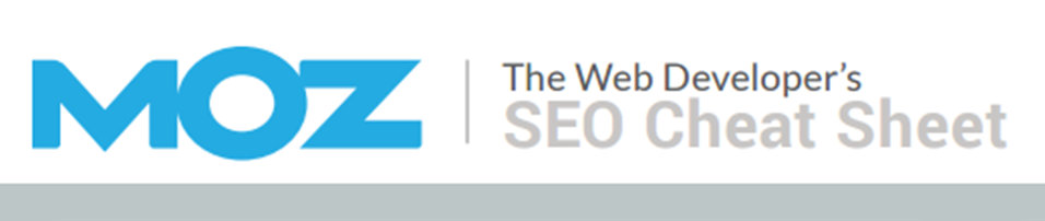 Textmetrics presents: Web Developer's SEO Cheat Sheet 3.0 by MOZ