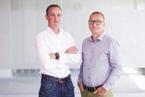 Kyrill Poelmans en Marcel Leeman, de ondernemers achter Webtexttool