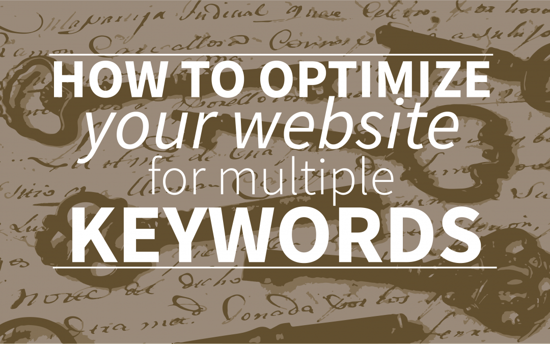 How To Optimize Your Website For Multiple Keywords?