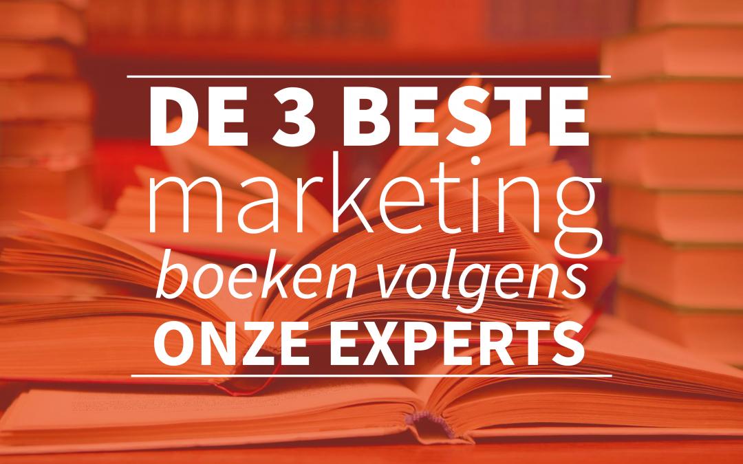 De 3 beste marketing boeken volgens onze experts