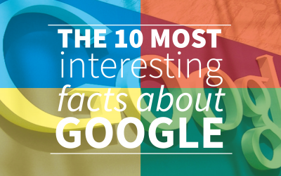The 10 most Interesting and funny facts about Google