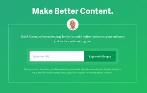 Quicksprout Webtexttool