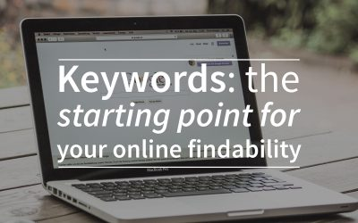 Keywords: the starting point for your online findability