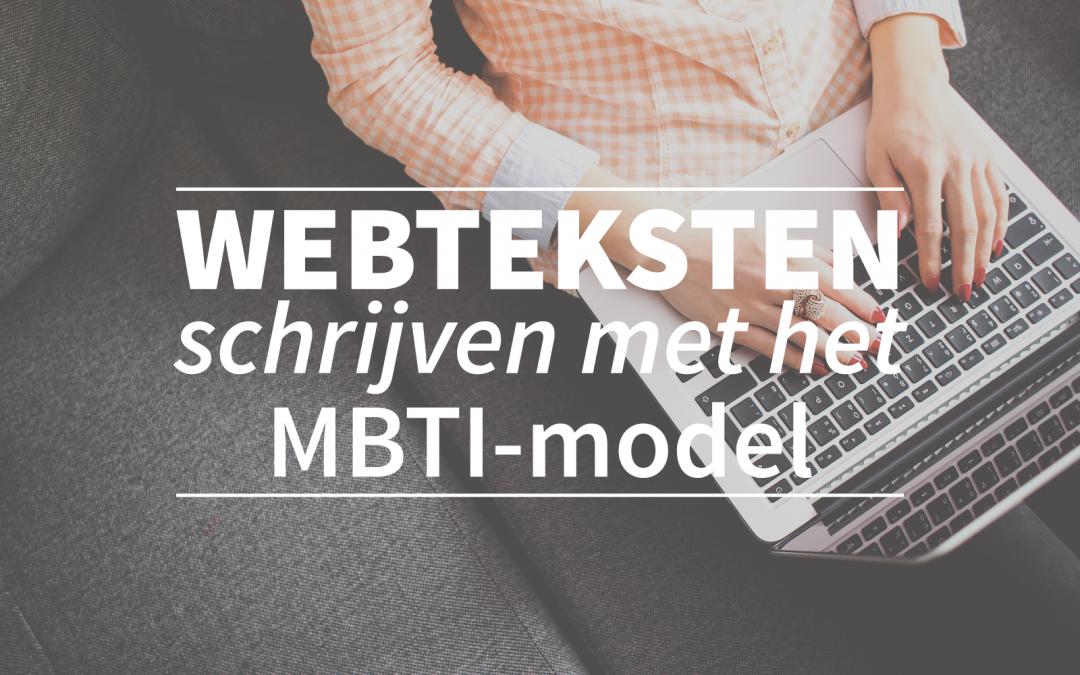 Webteksten schrijven met het MBTI-model