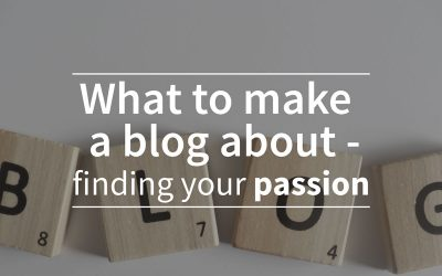 What to make a blog about?