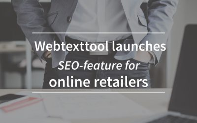 Webtexttool launches SEO-feature for online retailers