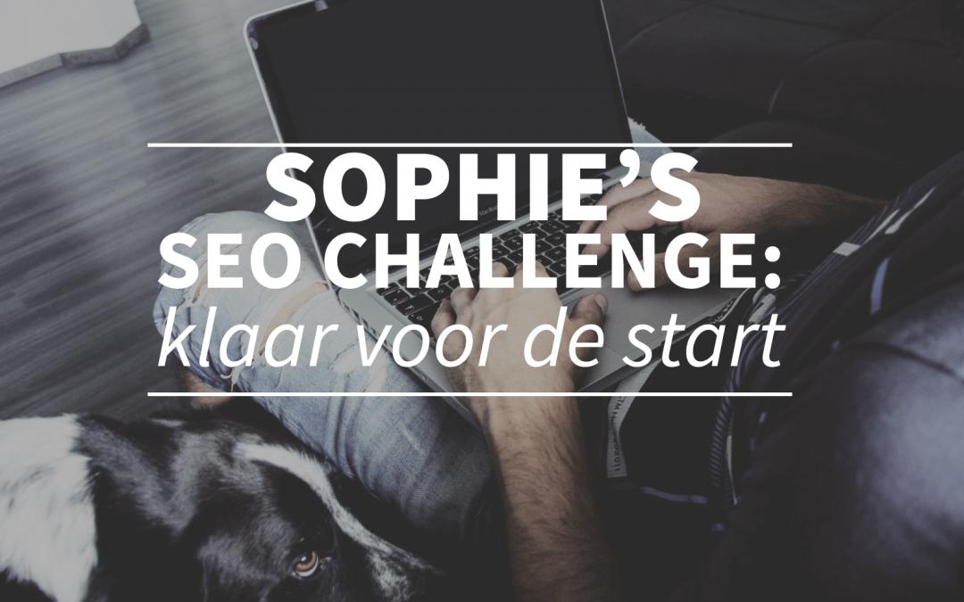 Sophie's SEO Challenge: klaar voor de start!
