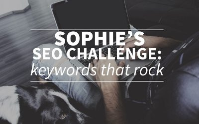 Sophies SEO challenge: carefully choose your keywords