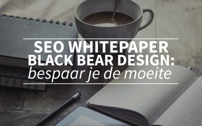 SEO whitepaper Black Bear Design: overslaan tenzij je echt alle bestaande whitepapers gelezen wilt hebben
