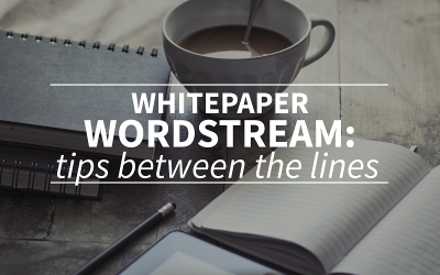 SEO whitepaper Wordstream: looking for tips between the lines