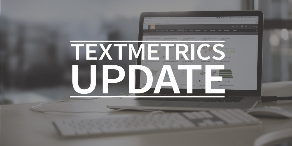 Textmetrics update : competitionchecker, inspiration and more