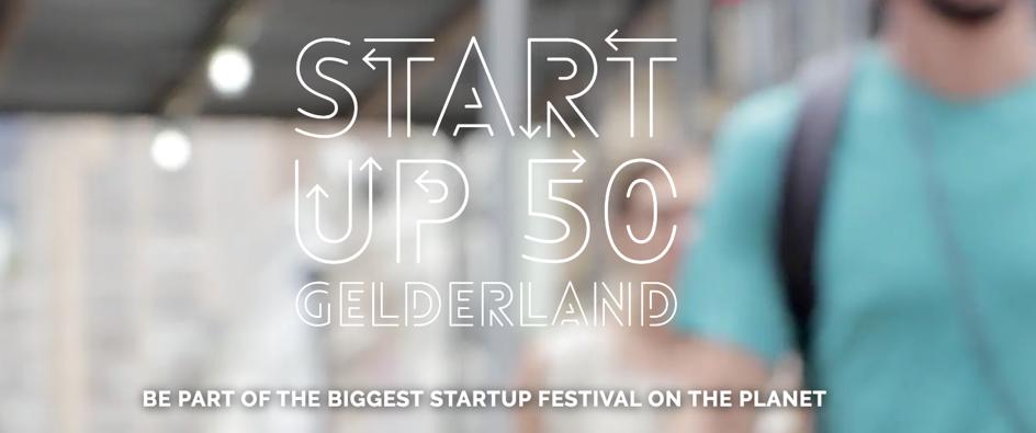 Tweede plaats in de Startup50 Gelderland ranking