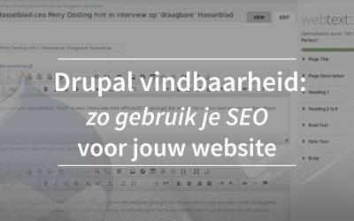 Drupal website vindbaar maken deel één: zo gebruik je SEO voor jouw site