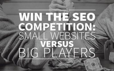 Win the SEO competition: small websites versus big players