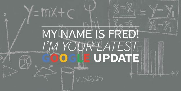 Fred Google Update
