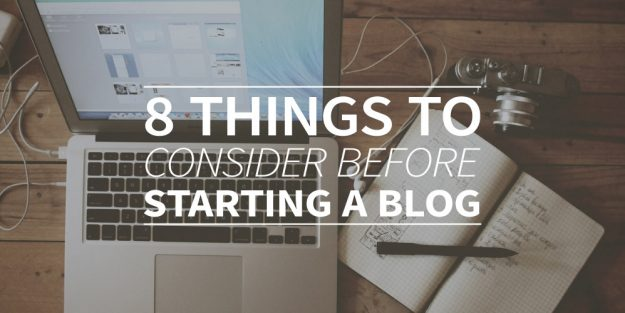 8 things to consider before starting a business blog