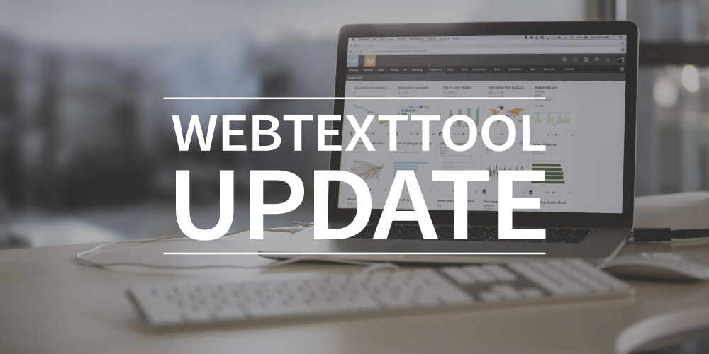 Webtexttool update : competitionchecker, inspiration and more