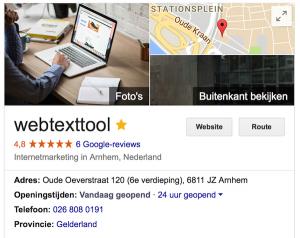 webtexttool adres