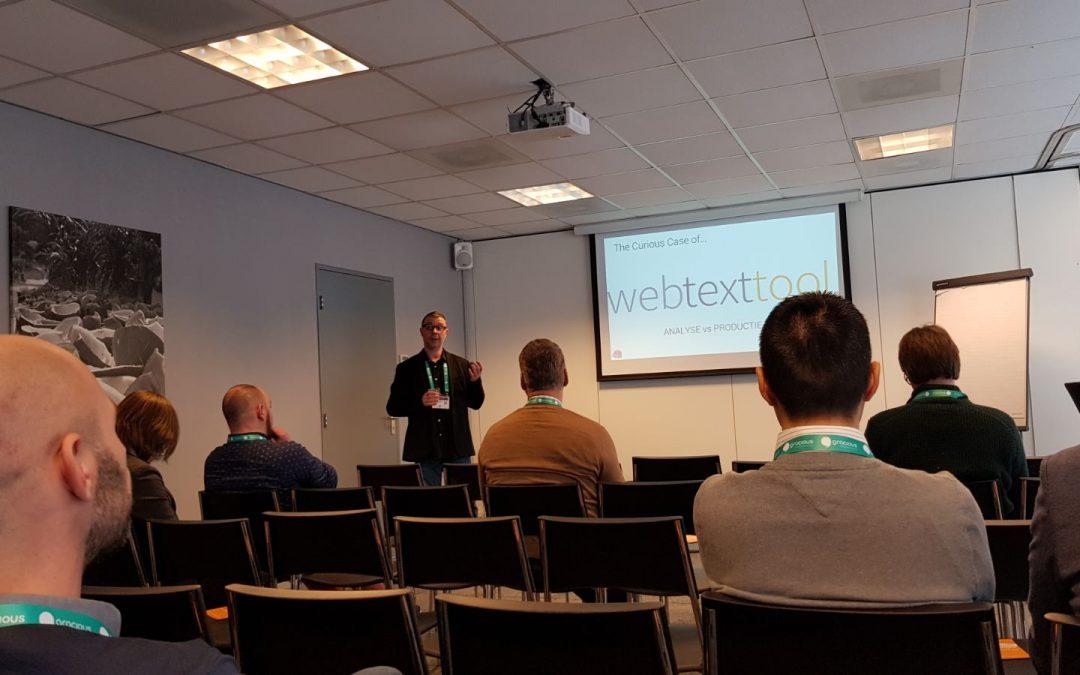 Textmetrics sponsor van Data Driven Commerce Event