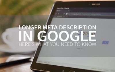 Longer meta description in Google. Here's what you need to know.