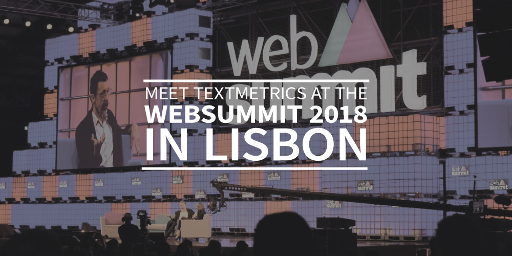 Meet Textmetrics at the Websummit 2018 in Lisbon