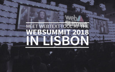 Meet webtexttool at the Websummit 2018 in Lisbon