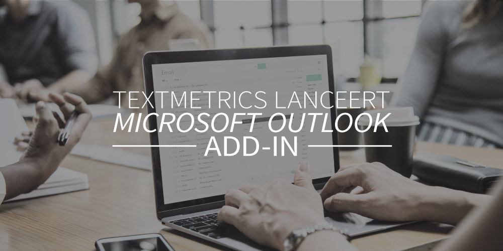 Textmetrics lanceert de Microsoft Outlook add-in