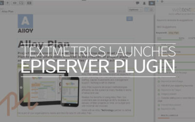 Textmetrics launches Episerver CMS plugin