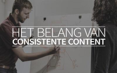 Het belang van consistente content
