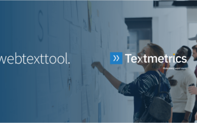 Webtexttool is now Textmetrics