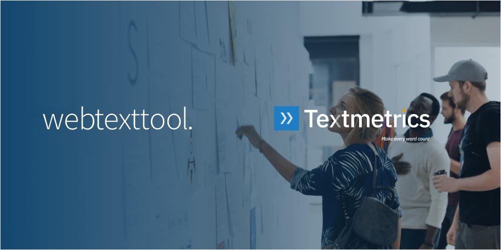 Webtexttool is now Textmetrics
