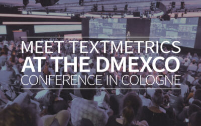 Meet Textmetrics at the DMEXCO conference in Cologne