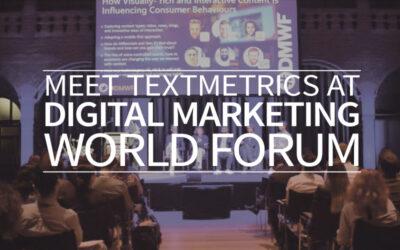 Meet Textmetrics at Digital Marketing World Forum