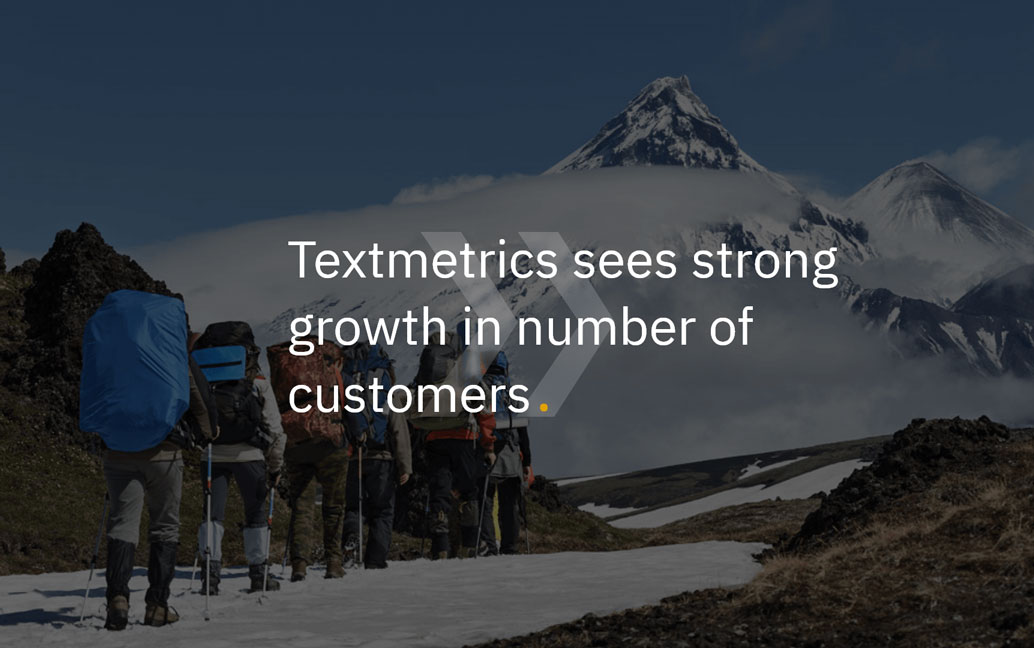 Textmetrics sees strong growth in number of customers for its language platform (EN/NL)