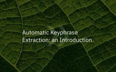 An Introduction to Automatic Keyphrase Extraction
