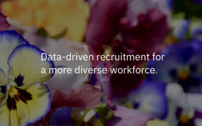 Data-driven recruitment for a more diverse workforce