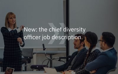 New: the chief diversity officer job description