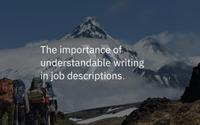 The importance of writing job descriptions at the understandable B1 level