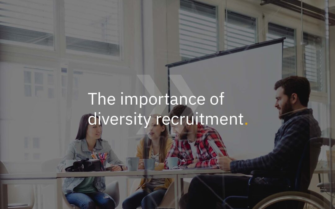 The importance of diversity recruitment